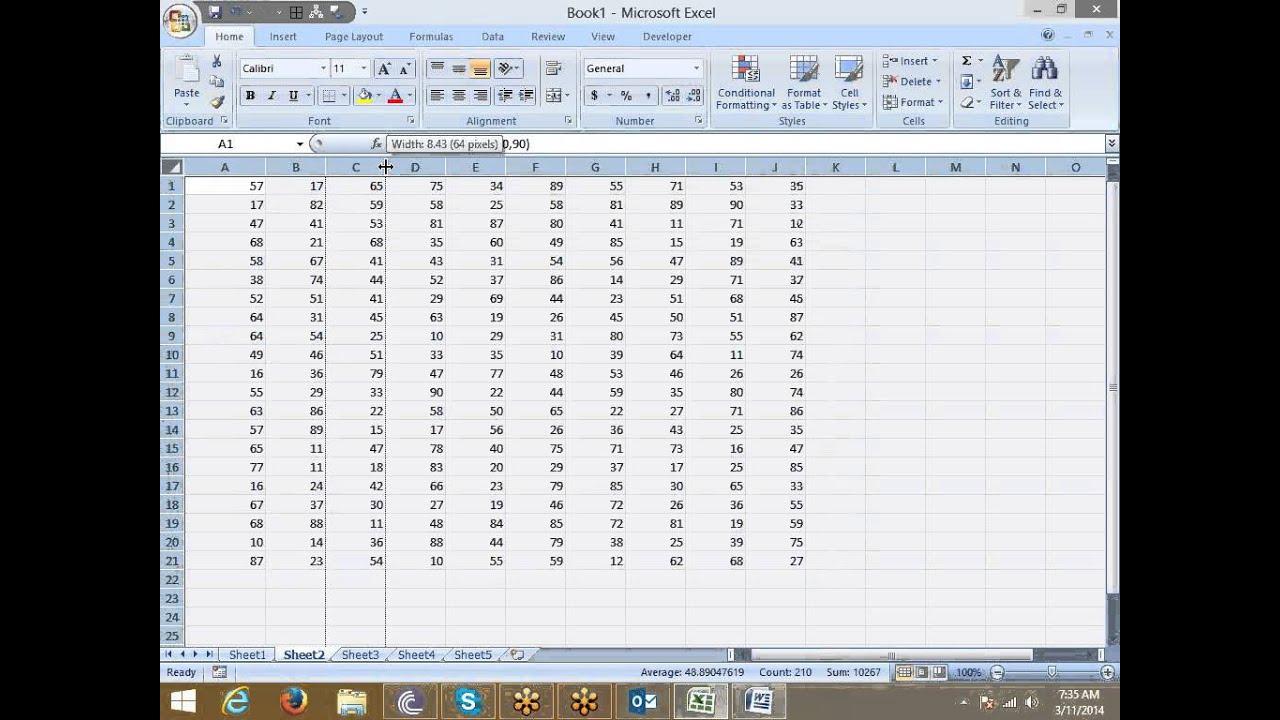 reporting format sample