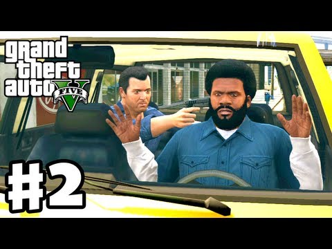 Grand Theft Auto 5 - Gameplay Walkthrough Part 2 - Repossession (GTA 5, Xbox 360, PS3)