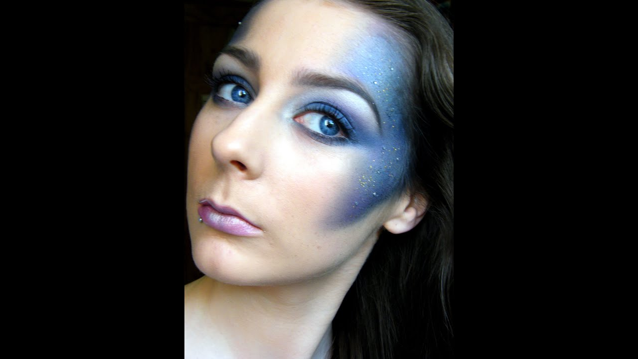 Youtube Makeup Tutorials Popular: Galaxy Inspired Makeup Tutorial