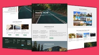 Upcoming Video | Create Responsive Travel Website using HTML5 & CSS3 Only | No JavaScript