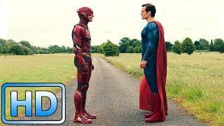Флэш против Супермена. Кто быстрее? / Сцена после титров / Лига справедливости (2017)