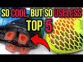 TOP 5 ALL-TIME COOLEST FOOTBALL BOOT TECHNOLOGIES THAT WERE USELESS!