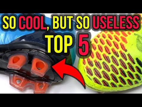 ddfc25a989633 TOP 5 ALL-TIME COOLEST FOOTBALL BOOT TECHNOLOGIES THAT WERE USELESS ...
