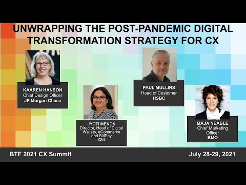 Unwrapping the Post Pandemic Digital Transformation Strategy for CX
