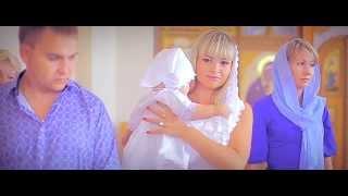 Крещение - Екатерина (видеосъемка крещения в церкви Новосибирска)
