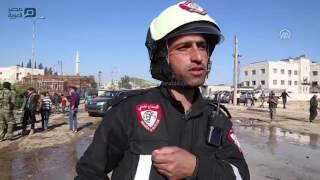 مصر العربية   مقتل 3 مدنيين إثر هجوم بسيارة مفخخة في اعزاز السورية