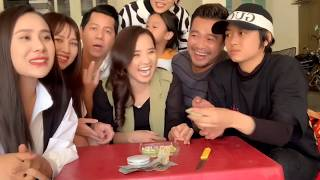 Hoài An - Vân Anh - Hồ Bích Trâm - Huy Cường - Thủy Phạm thi ăn chua không nhăn mặt | DV Hoài An