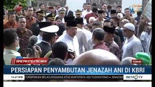 Jenazah Ani Yudhoyono Tiba di KBRI Singapura