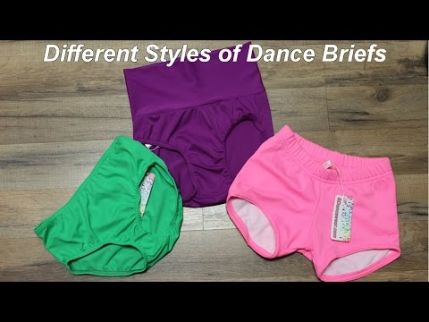 Different Styles of Dance Briefs