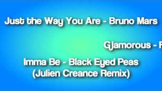 45 Songs in 10 Minutes - DJ Naryan (2010 Mash-up Mixtape Sampler)
