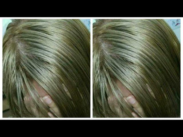 إصبغي الشيب بلون أشقر زيتي روعة مع توحيد لون شعرك مخلط بعلبة واحدة غارنييه Youtube