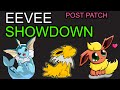 Pokemon Go Best Eevee Post Balance Patch - Best Eevee Evolution After Vaporeon Nerf & Balance Patch?