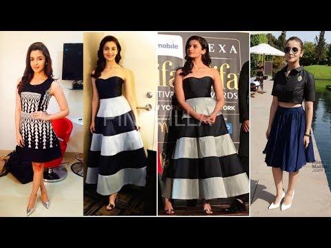 Alia Bhatt Indo Western Outfit Designs