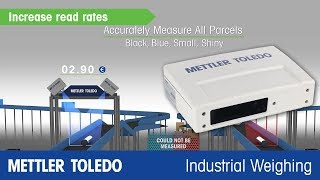 Industry-leading dimensioners from METTLER TOLEDO
