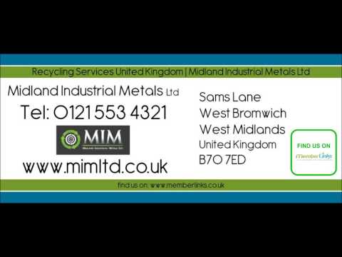 Recycling Services United Kingdom | Midland Industrial Metals Ltd