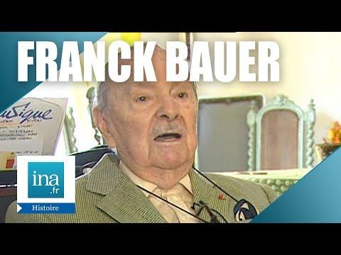 Franck Bauer, le speaker de Radio Londres   Archive INA