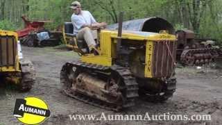 Caterpillar Model 2 ton Crawler Tractor - Ken Avery Antique Tractor Collection Auction