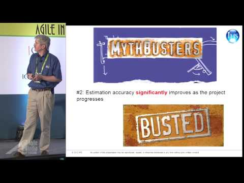 Mythbusting Software Estimation by Todd Little