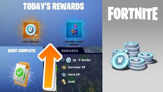Earn 1,000 Vbucks Per Week | How To Get Free Vbucks in Fortnite Stw All Methods (2019 Season 10)