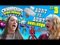 Skylanders Speed Drawing Challenge Part 3 COME ON OVER Aunt vs. Aunt Draw Battle w haha laughs