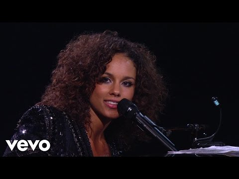 Alicia Keys  Trouble Man Piano & I: AOL Sessions +1