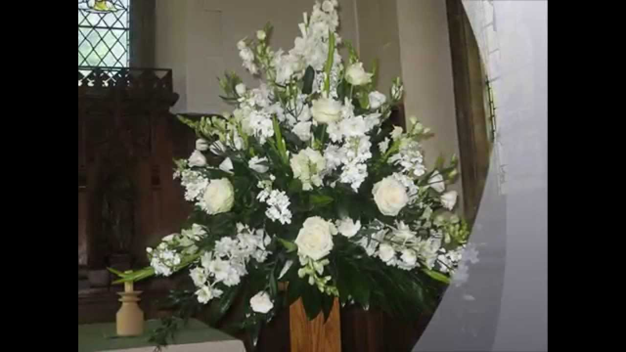 Church Wedding Flowers From Carole Smith Florist