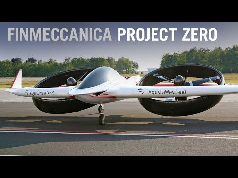 Finmeccanica Trials Future Technology With Project Zero Electric Tiltrotor – AINtv