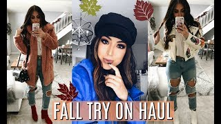 FALL TRY ON HAUL 2017: AFFORDABLE FALL FASHION TRENDS