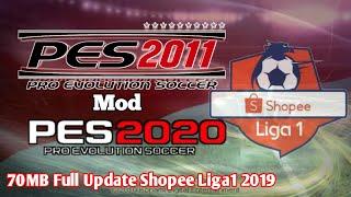Gambar cover Download! Pes2011 70MB Full Update Shopee Liga1 2019, New Kits, New Transfer - Mod Pes2020