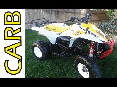 Polaris Trailblazer 250 CARB Rebuild clean part 1 of 2