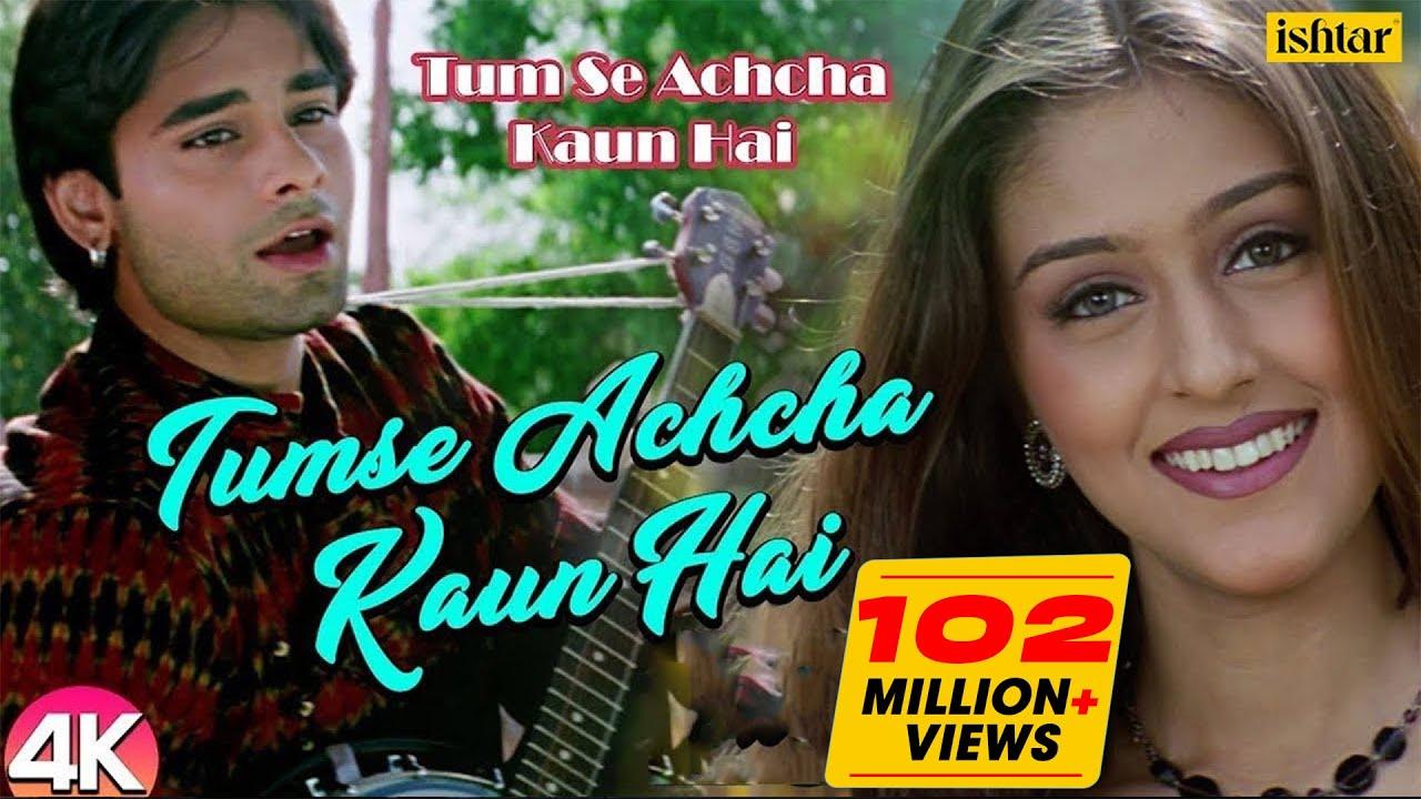Download Chand Tare Phool - 4K Video | Tum Se Achcha Kaun Hai | Nakul Kapoor | 90's Best Romantic Songs
