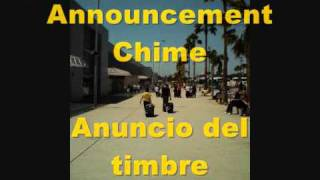 Tenerife South Airport TFS Announcement Chime