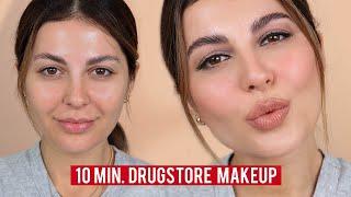 10 Minute Drugstore Makeup Tutorial