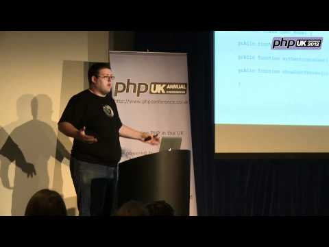 PHP UK Conference 2012 - Data Abstraction In Large Web Applications - Brandon Savage