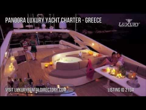 Pandora Luxury Yacht Charter - Greece - Mediterranean