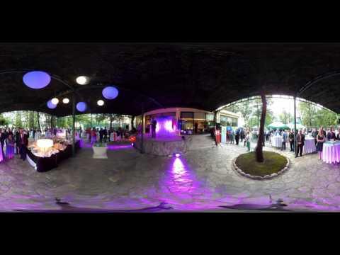 Day of the Republic Slovenia. Podgorica. Montenegro video 360.