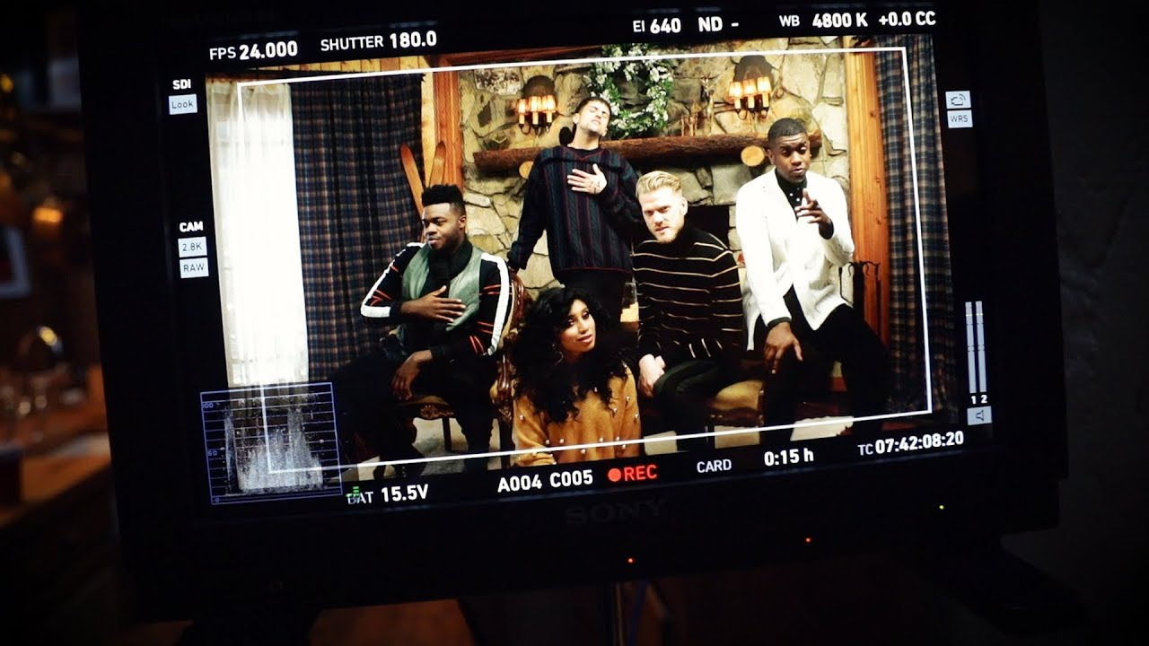 Behind The Scenes Sweater Weather Pentatonix Youtube