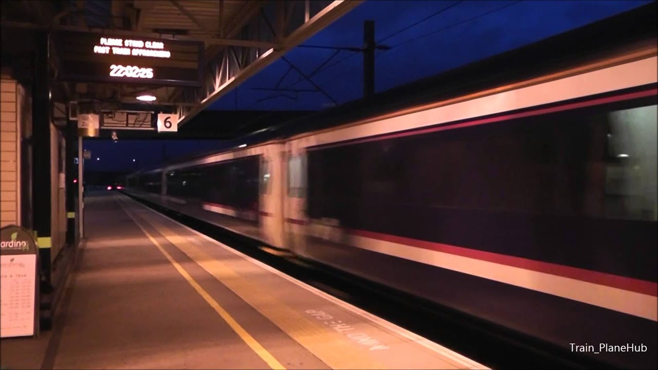 First Scotrail Caledonian Sleeper Passing Milton Keynes Central