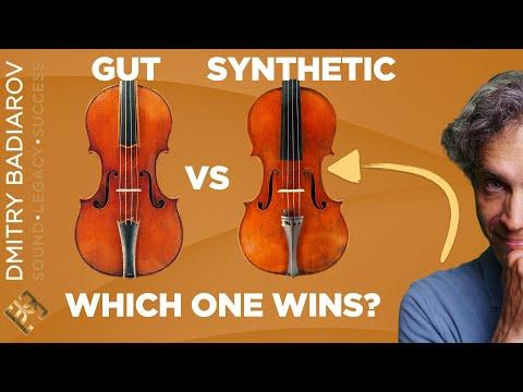 Synthetic Violin Strings VS Gut.