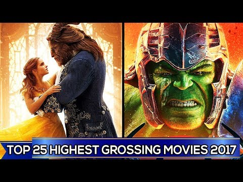 TOP 25 HIGHEST GROSSING MOVIES 2017