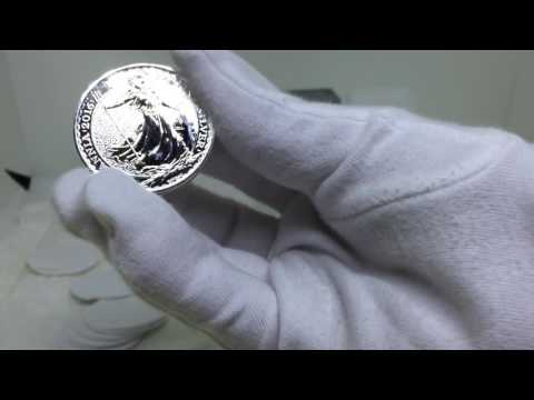 How To Look After Your Silver Bullion Coins. Britannia.