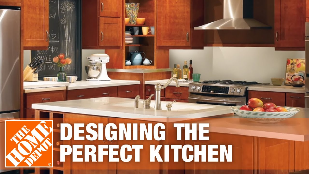 Design Tips: Designing The Perfect Kitchen   The Home Depot   YouTube