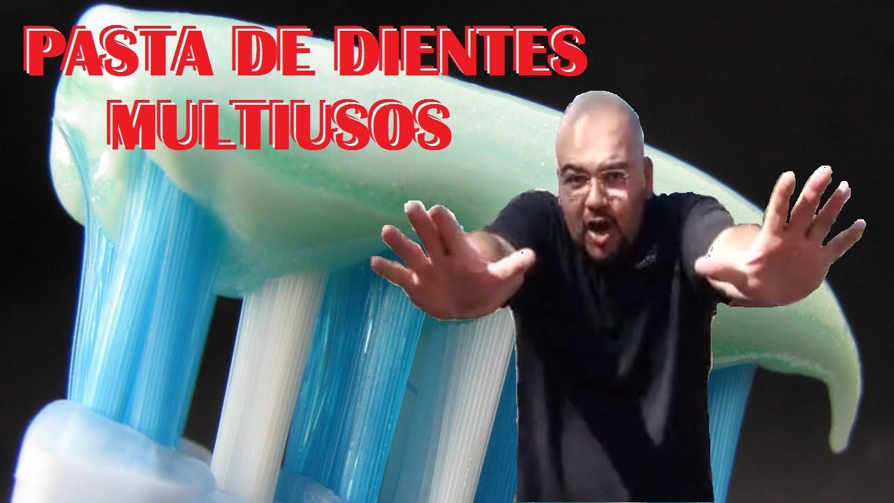 Pasta de dientes multiusos youtube - Como pulir faros de coche ...