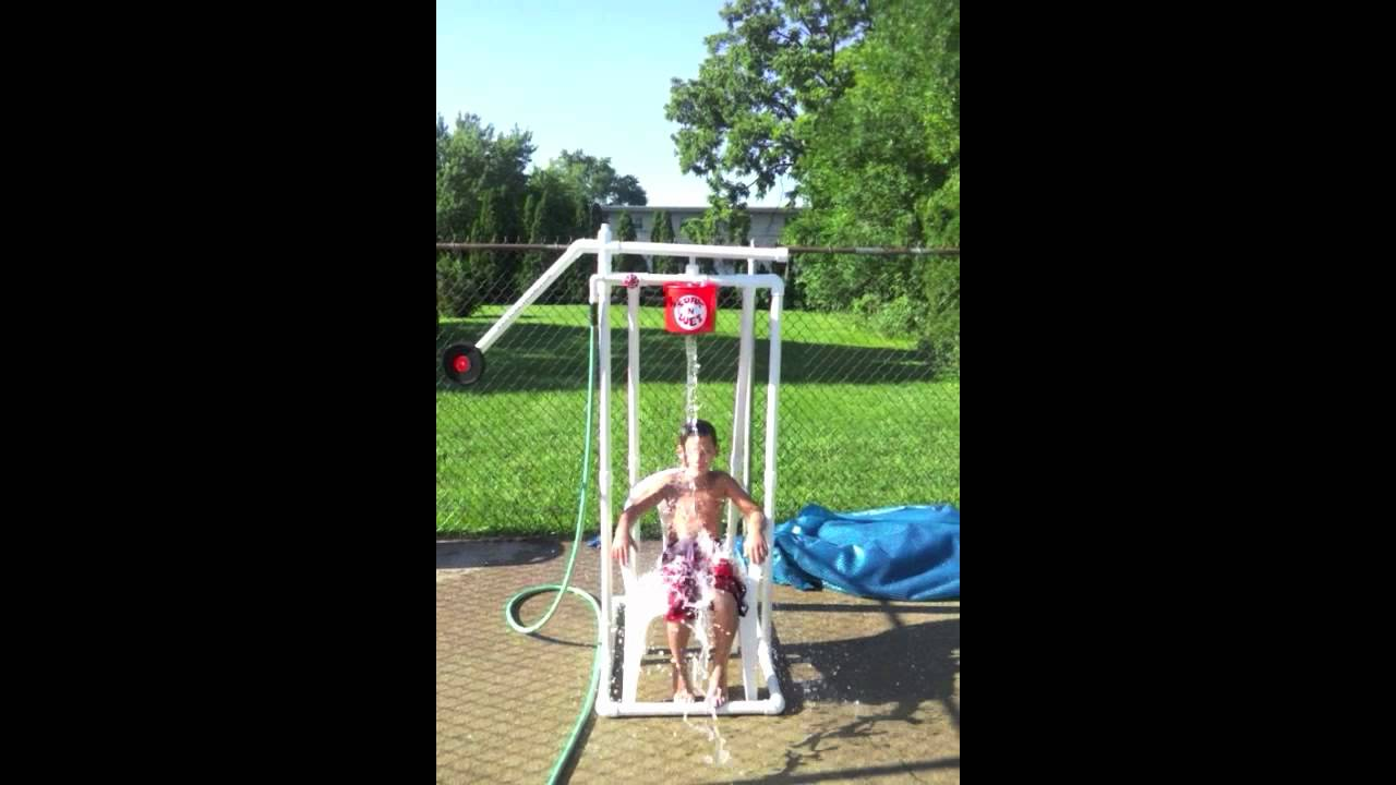 New Water Dousing Game For Backyards Youtube