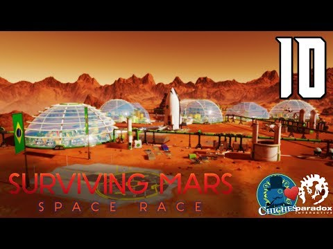 SURVIVING MARS: SPACE RACE #10 Una Invasión Silenciosa... - Gameplay En Español
