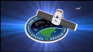 SpaceX Falcon 9 / CRS-11 NASA TV Launch Broadcast