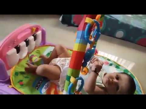 Techhark Kick And Play Multi-Function ABS Piano Baby Gym