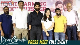 Dear Comrade Press Meet Full Event | Vijay Deverakonda | Rashmika Mandanna | Bharat Kamma