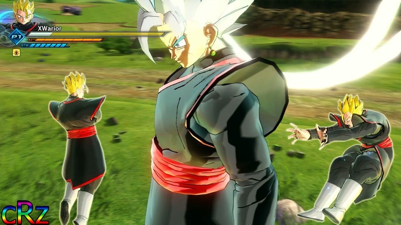 Merged Zamasu Clothes For CAC Legendary Shot!   Dragon Ball Xenoverse 2 MOD REVIEWS - YouTube
