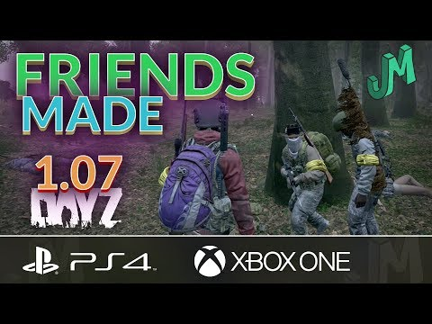 DayZ PvP 🎒 Friends Made 🎮 PS4 XBOX Official Servers
